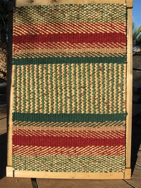 weaving rugs on a loom 99 best images about twined rugs and more on