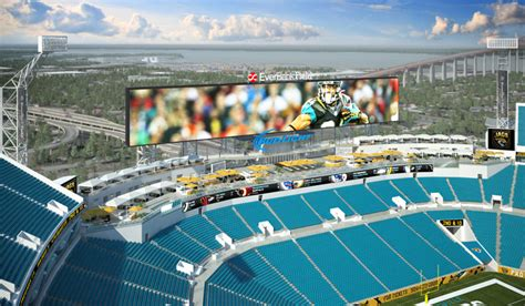 Luxury Home Plans With Pools by Construction Underway For Everbank Field Enhancements