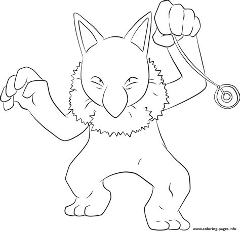 pokemon coloring pages rhyhorn 097 hypno pokemon coloring pages printable