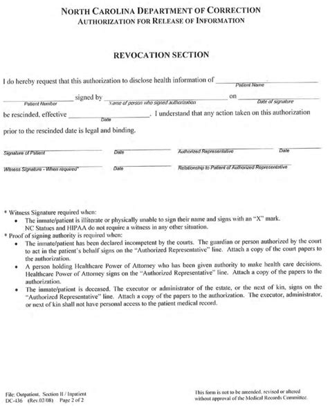 Carolina Records Free Carolina Records Release Form For