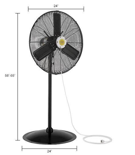 outdoor oscillating pedestal fan evaporative coolers sw coolers misting fans