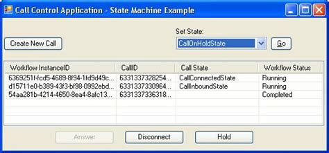 state machine workflow exle source code call implmentation using the windows workflow