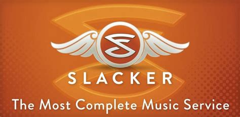slacker androids slacker the essential radio experience for