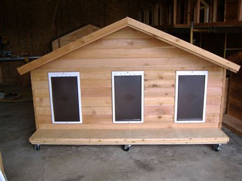 3 dog dog house 17 best ideas about insulated dog houses on pinterest insulated dog kennels build a dog house and insulated cat house