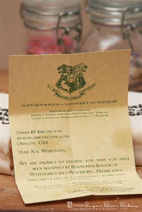 Hogwarts Acceptance Letter Cookie hogwarts envelope cookies acceptance letters inside