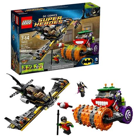 Set Emilia Batwing lego batman 76013 the joker steam roller lego batman