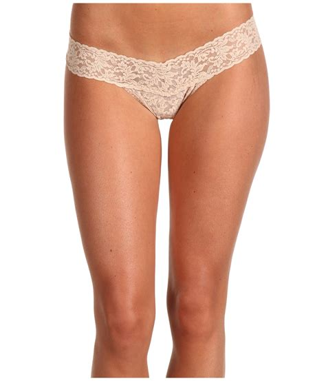 most comfortable mens thong hanky panky signature lace low rise thong 3 pack at zappos com