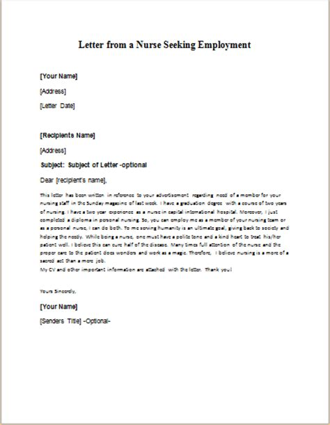 Seeking For Opportunities Letter formal official and professional letter templates part 14