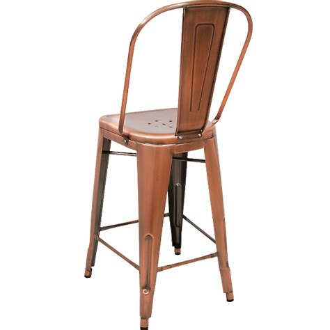Copper Back Bar Stools by Sofa Furniture Kitchen Copper Bar Stool