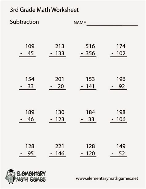 Math Problems For 3rd Grade Worksheet 3rd grade math worksheets free coloring sheet