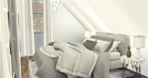 caeley sims attic bedroom sims  downloads