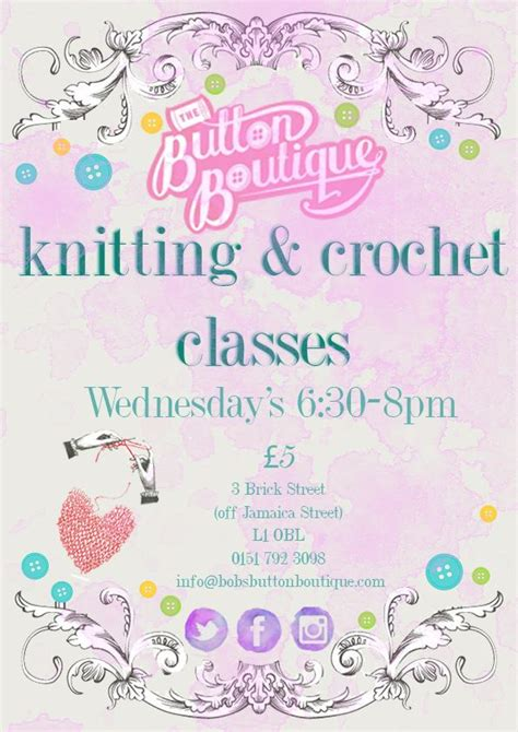 knitting courses uk knitting crocheting classes liverpool pitter patter