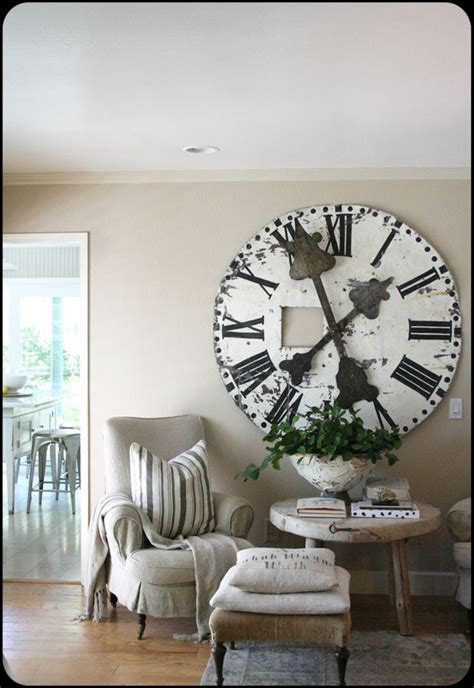 oversized home decor 25 best ideas about large clock on pinterest huge wall clock wall clock decor and huge clock