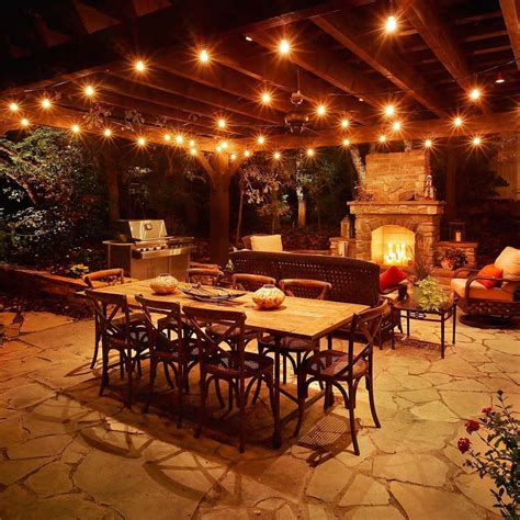 impressionable covered patio lighting ideas interior design inspirations