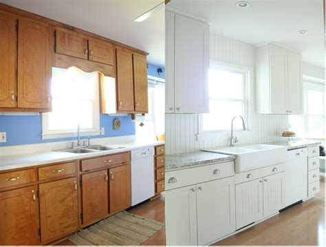 before and after pics of kitchens on a budget home