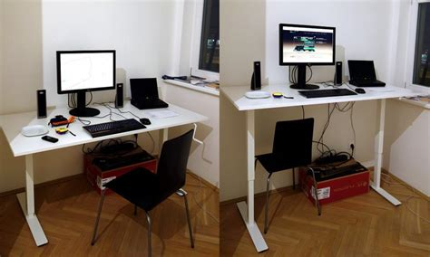 How To Raise A Desk by Standing Desk Test The Design Bench