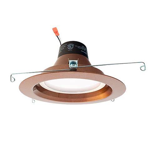 bronze led recessed lighting green watt 6 quot dimmable led recessed lighting 18watt