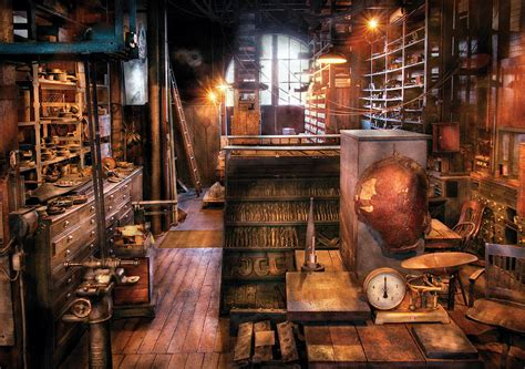 Stock Room by Machinist Ed S Stock Room Photograph By Mike Savad