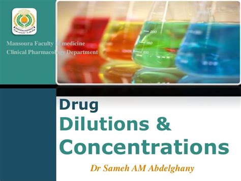 Strandford Mba Concentration by Dilutions Concentrations