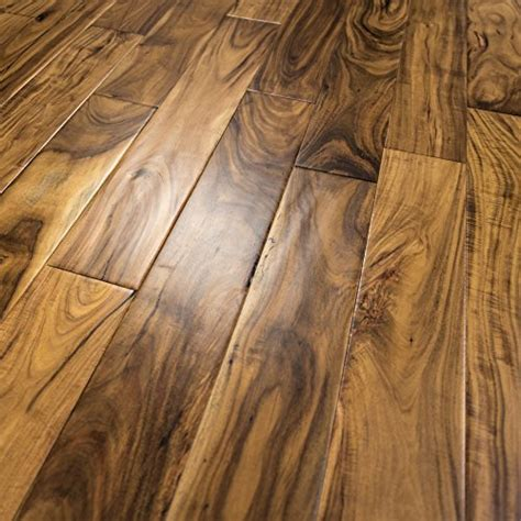 acacia scraped prefinished engineered wood flooring 5