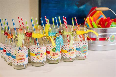 1st Birthday Party Giveaways - kara s party ideas baby jam musical themed 1st birthday party