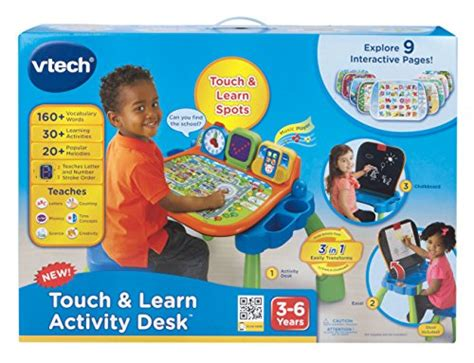 vtech touch and learn desk vtech touch and learn activity desk new ebay