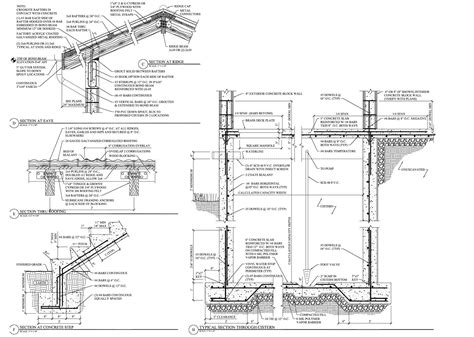 architectural specification sections section drawings including details exles section
