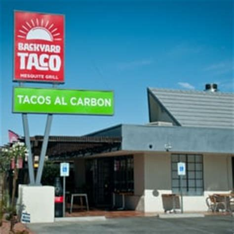 backyard taco mesa az backyard taco 192 photos mexican restaurants mesa