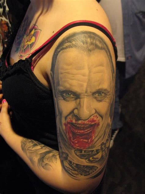 hannibal tattoo 8 creepy hannibal lecter tattoos tattoodo