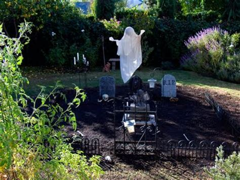 backyard burial halloween backyard burial ground pool to ghouls in a day