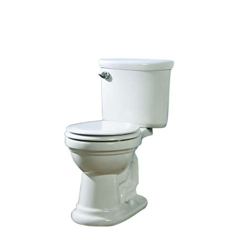 lowes bathroom toilets shop aquasource white 1 28 gpf 4 85 lpf 12 in rough in