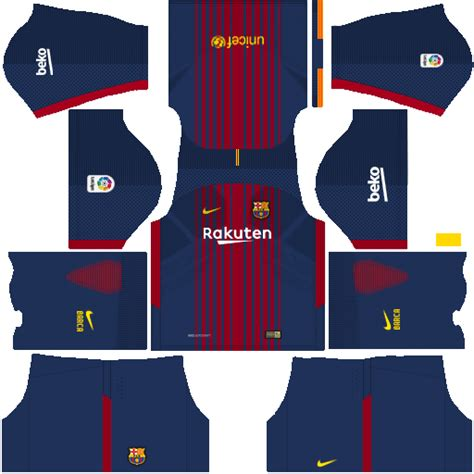 design kit dream league soccer barcelona kits logo url 2017 2018 updated dream