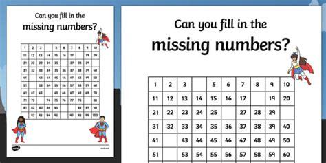 indonesian numbers 1 100 printable superhero themed missing numbers 100 square worksheet