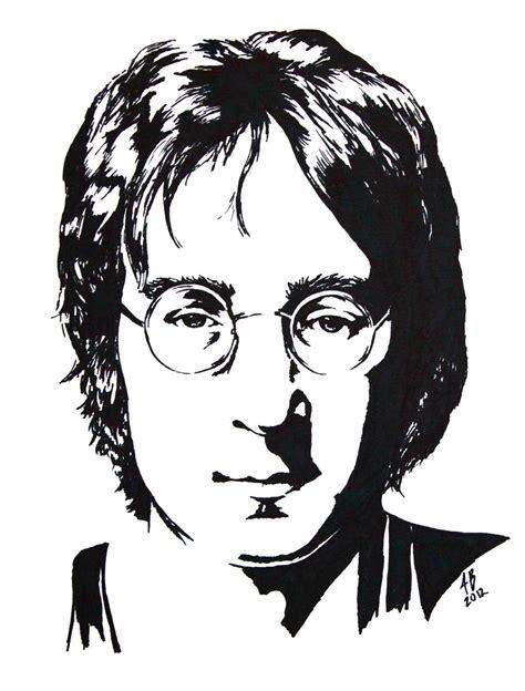 Lennon Imagine Vector T Shirt lennon black and white study by audgeon58 on deviantart