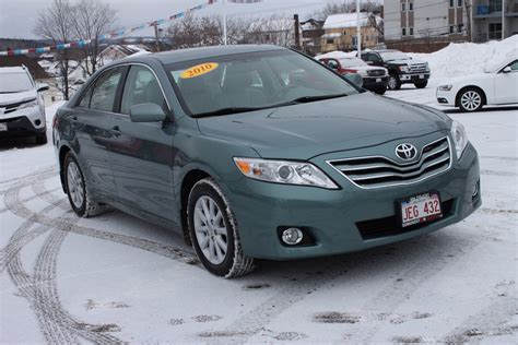 toyota used inventory used 2010 toyota camry xle in edmundston used inventory