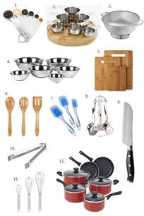 Kitchen Utensil Essentials List Kitchen Essentials The Basics The Cooking Jar