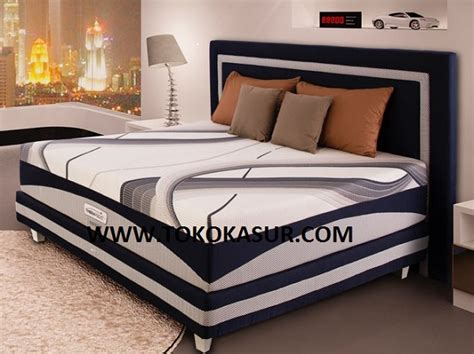 Ranjang Besi 160x200 therapedic agility f toko kasur bed murah simpati furniture