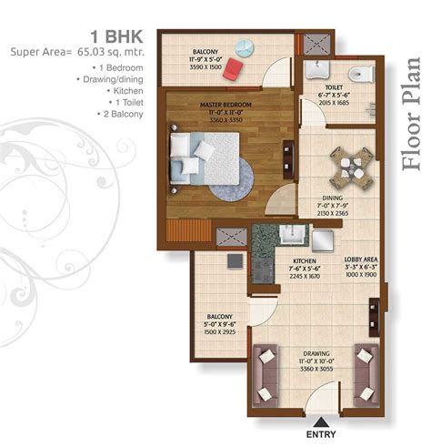 1bhk floor plan 2 3 bhk ready to move apartments in greater noida ready