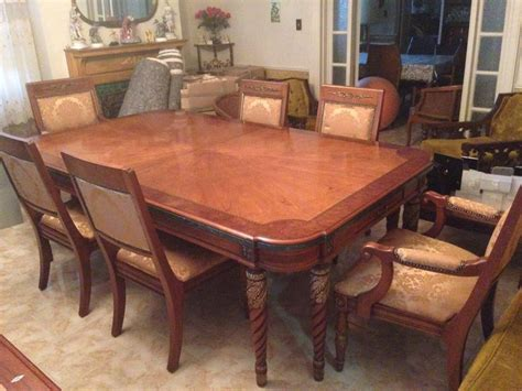 henredon dining room sets henredon grand provenance dining room set ebay