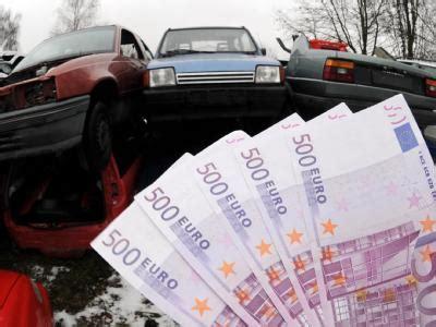 Auto Verschrotten München Geld Bekommen by Abwrackpr 228 Mie Nichts Mehr Als Geldmacherei Und