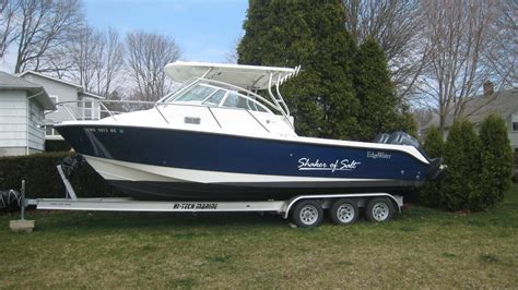 edgewater express boats for sale 2006 edgewater 265 express w twin f225s the