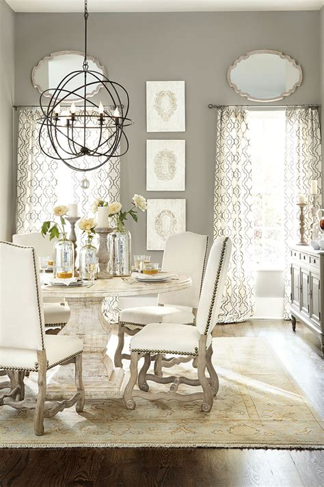 Ballard Designs Dining Chairs how to select the right size chandelier how to decorate