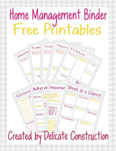 printable home organization binder 237 best planner printable images on pinterest planner