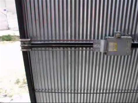 sifirdan otomatik garaj kapisi yapimi automatic garage