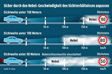 Wo Ist Die Nebelschlussleuchte Am Auto by Nebel So Vermeiden Autofahrer Unf 228 Lle Autobild De