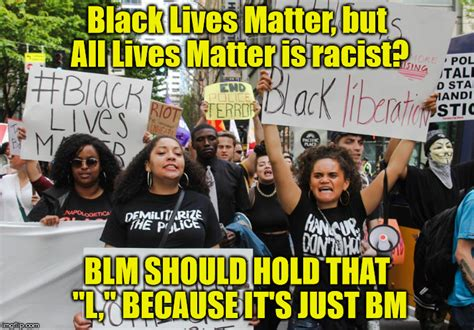 Protest Meme - blm my thoughts imgflip