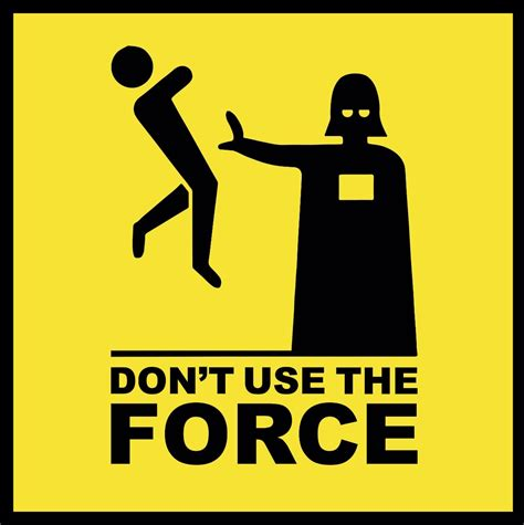 I Dont Use Botox by Placa Quadro Wars Darth Vader Don T Use The