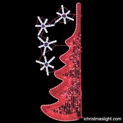 street pole light up christmas decorations ichristmaslight