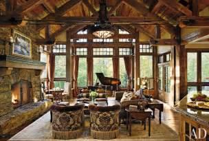 Rustic Livingroom Rustic Living Room By Locati Interiors Ad Designfile