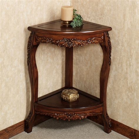 decorative table accents corner accent table white various options for corner
